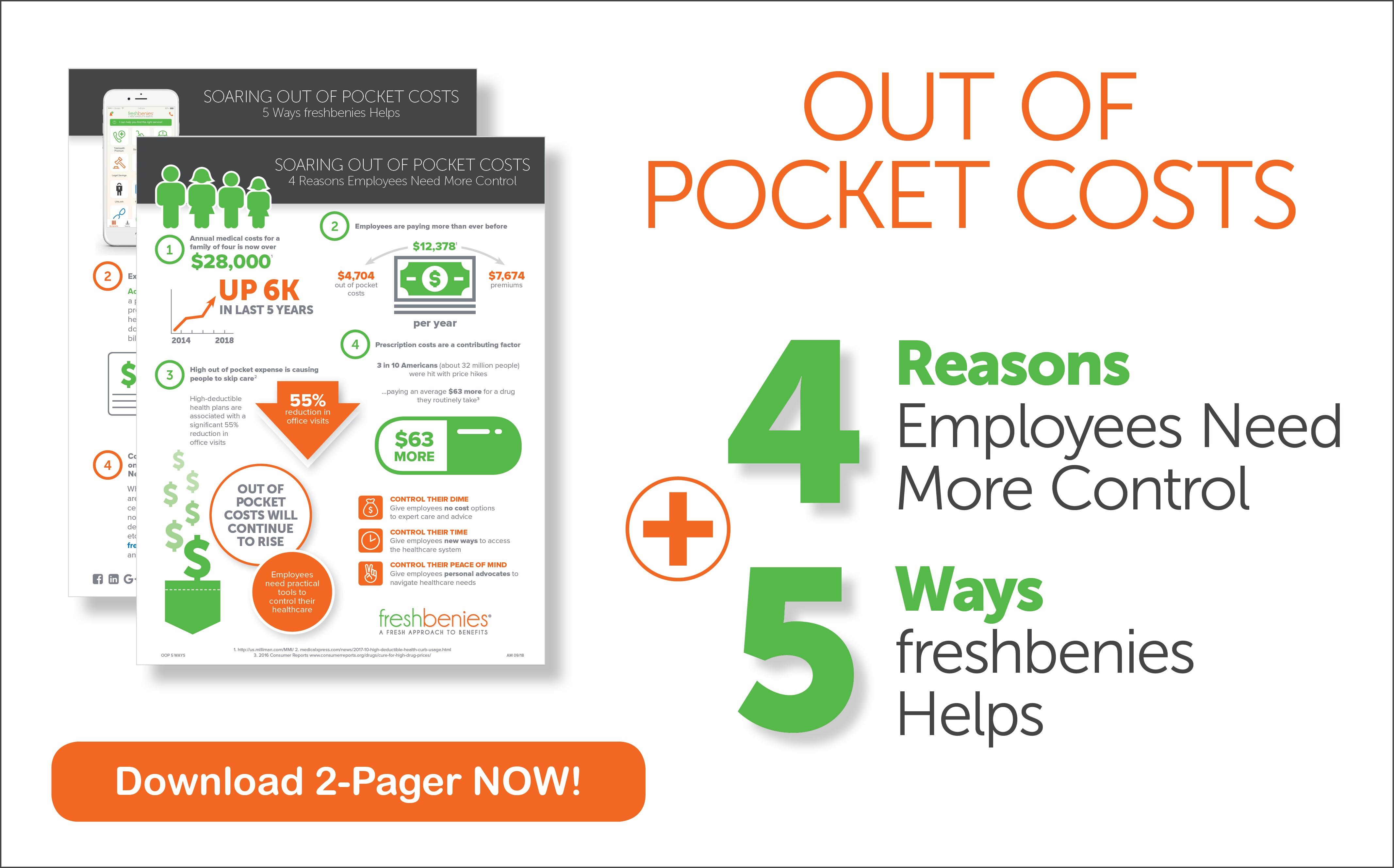 OOP Cost 5 Ways Landing Page